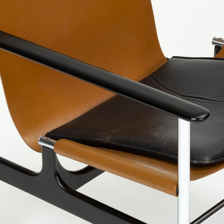 Model 657 Lounge Chair by Charles Pollock for Knoll For Sale 6