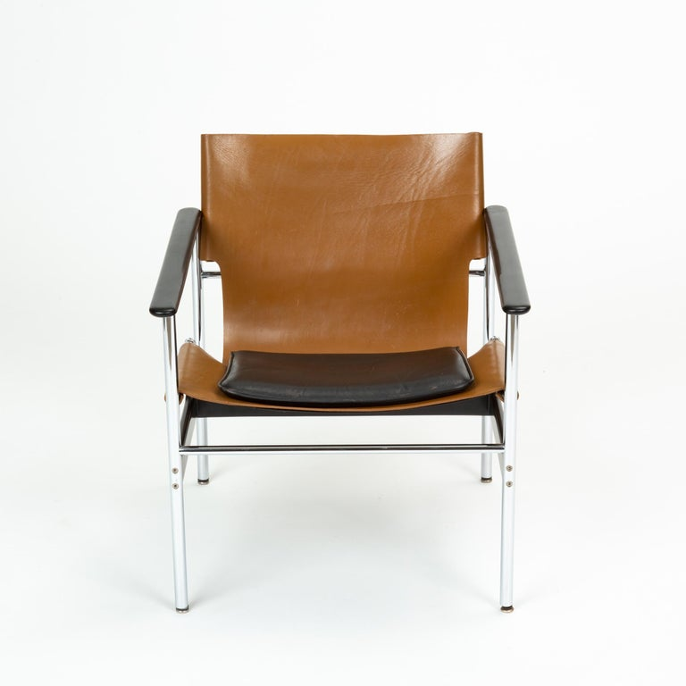 Mid-Century Modern Model 657 Lounge Chair by Charles Pollock for Knoll For Sale