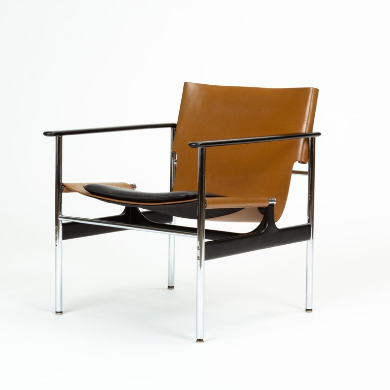 American Model 657 Lounge Chair by Charles Pollock for Knoll For Sale