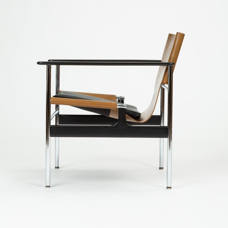Polished Model 657 Lounge Chair by Charles Pollock for Knoll For Sale