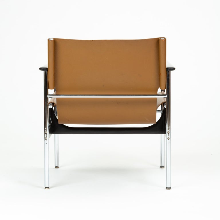 Mid-20th Century Model 657 Lounge Chair by Charles Pollock for Knoll For Sale