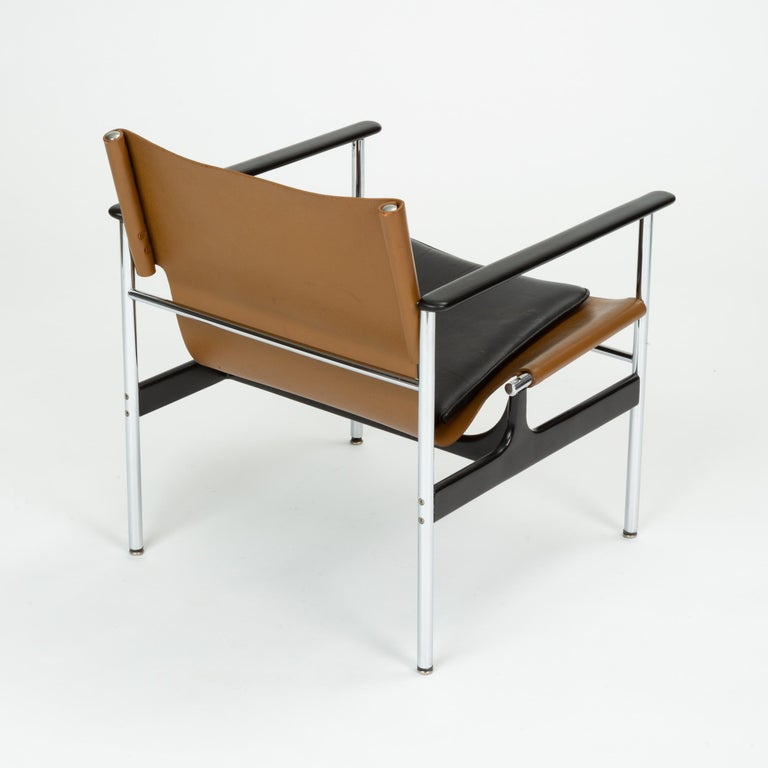 Model 657 Lounge Chair by Charles Pollock for Knoll For Sale 1