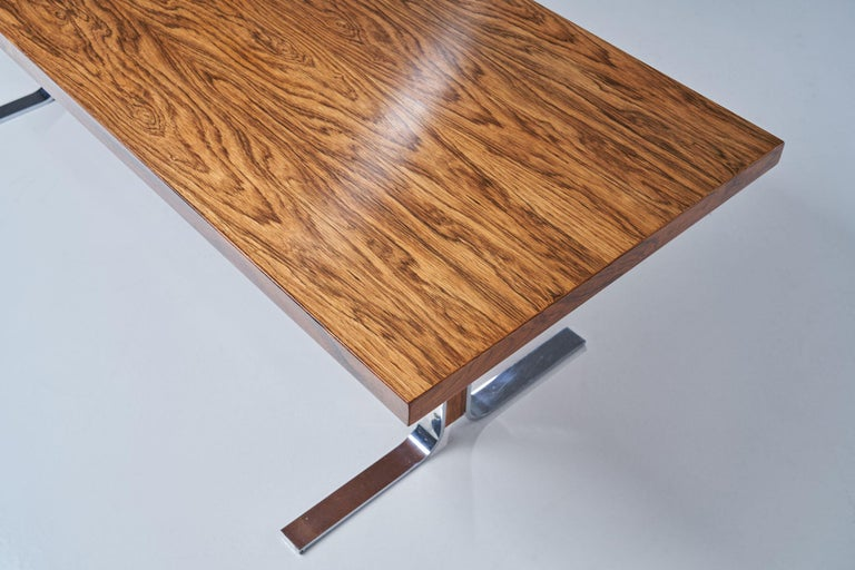 """Model 66"" Coffee Table by E. W. Bach for Møbelfabrikken Toften, Denmark, 1950s For Sale 4"