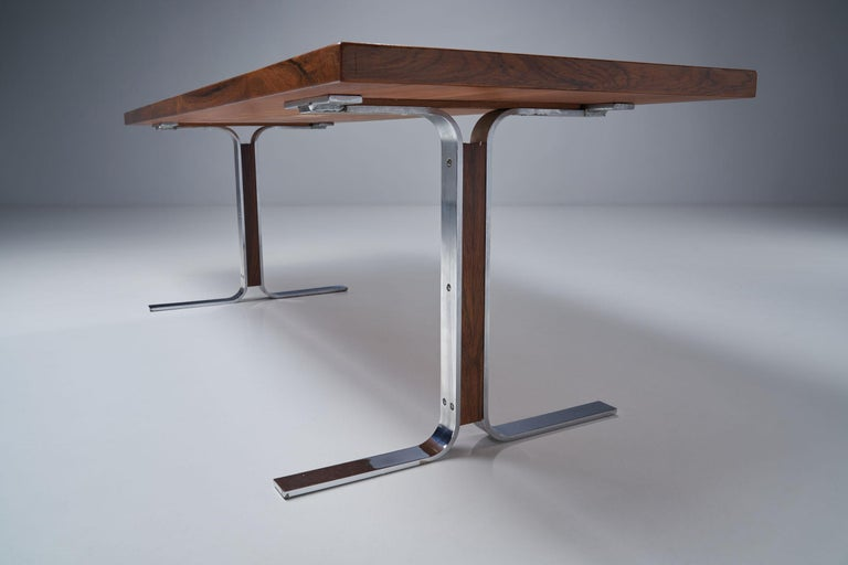 """Model 66"" Coffee Table by E. W. Bach for Møbelfabrikken Toften, Denmark, 1950s For Sale 11"
