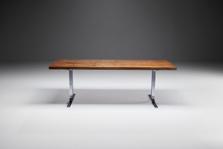 "Danish ""Model 66"" Coffee Table by E. W. Bach for Møbelfabrikken Toften, Denmark, 1950s For Sale"