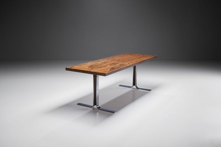"""Model 66"" Coffee Table by E. W. Bach for Møbelfabrikken Toften, Denmark, 1950s In Good Condition For Sale In Utrecht, NL"