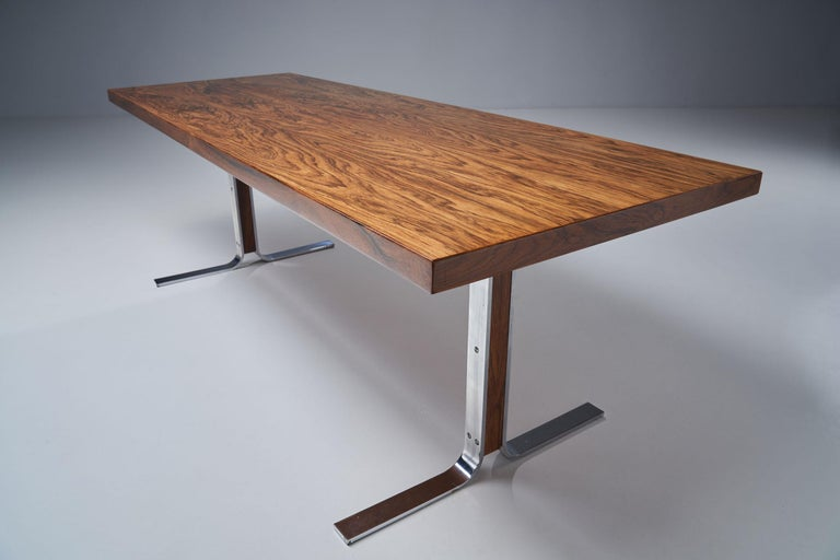 """Model 66"" Coffee Table by E. W. Bach for Møbelfabrikken Toften, Denmark, 1950s For Sale 1"