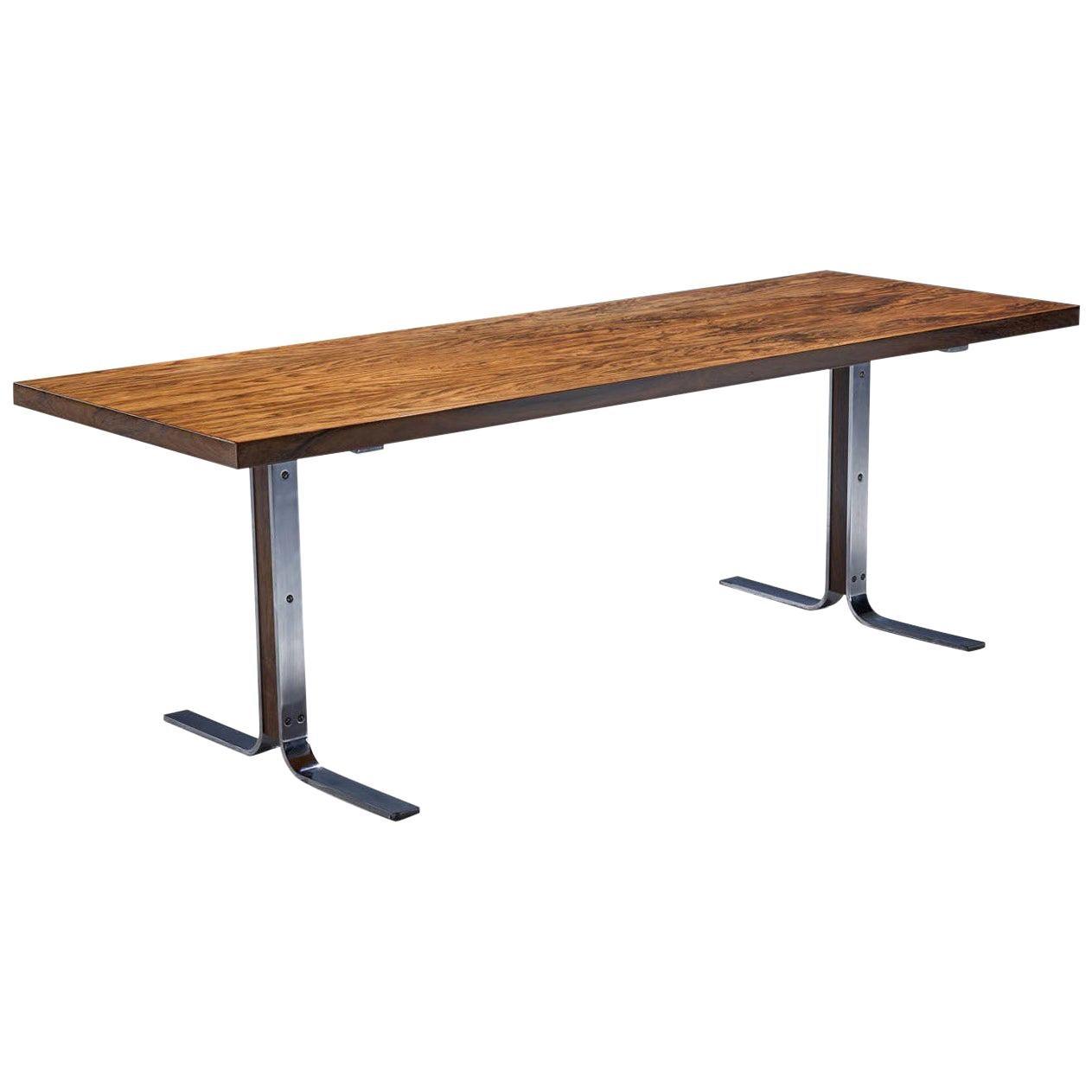 """""""Model 66"""" Coffee Table by E. W. Bach for Møbelfabrikken Toften, Denmark, 1950s"""