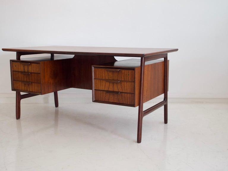 Model 75 Writing Desk by Omann Jun Mobelfabrik For Sale 5