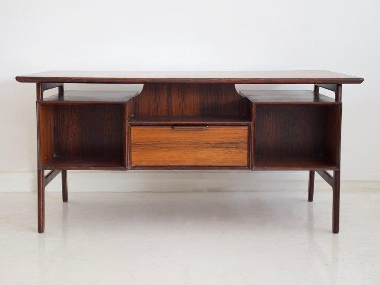 Model 75 Writing Desk by Omann Jun Mobelfabrik For Sale 8
