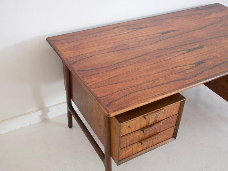 Model 75 Writing Desk by Omann Jun Mobelfabrik For Sale 1