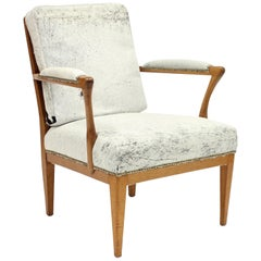 Model 868, Easy Chair by Josef Frank for Svenskt Tenn, 1950s