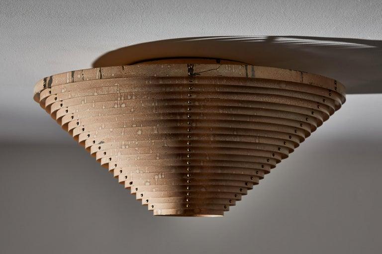 Metal Model A622A Ceiling Light by Alvar Aalto for Artek For Sale