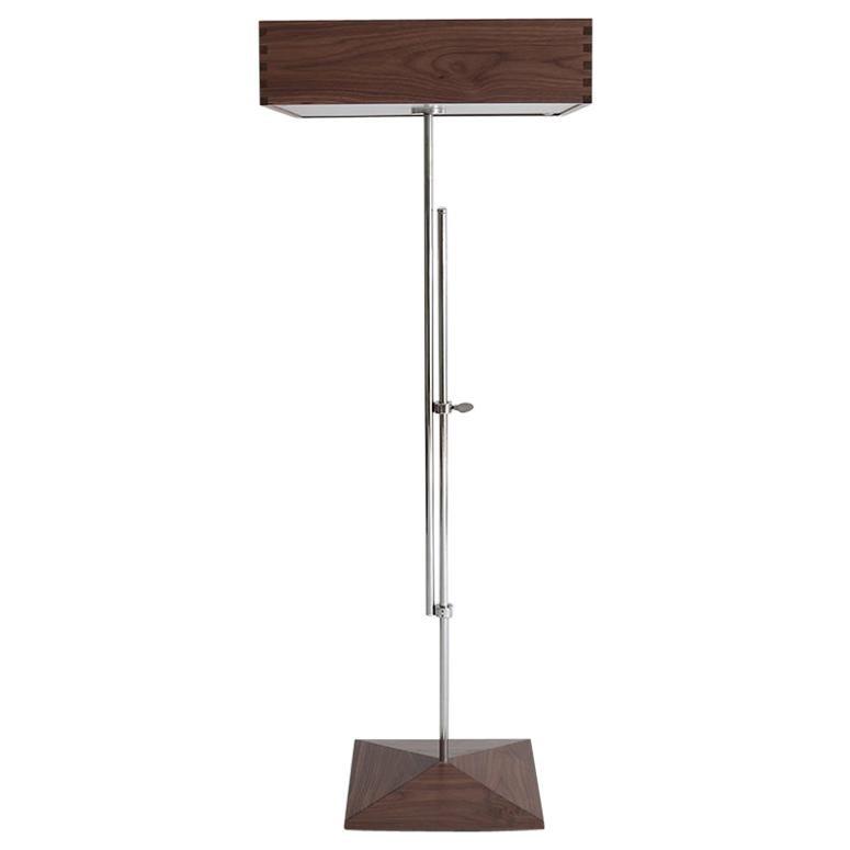 Model AR1 variable height standing lamp by Abraham & Rol for Disderot