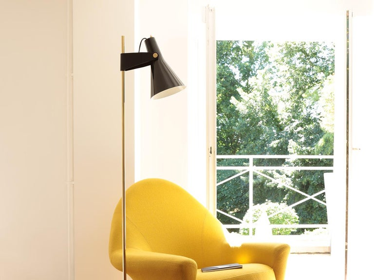 Mid-Century Modern Model B4 Standing Lamp by René Jean Caillette For Sale