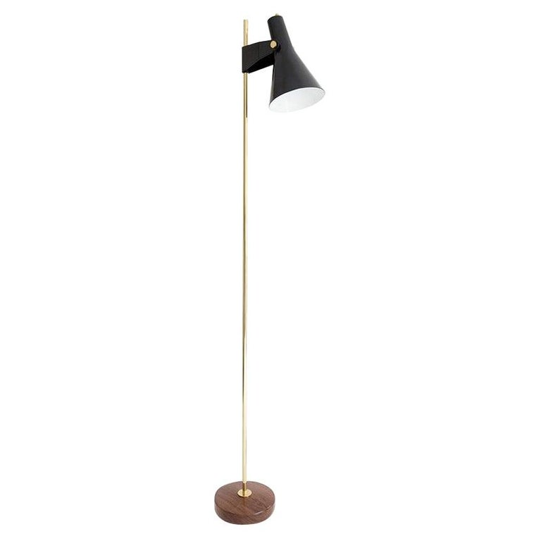 Model B4 Standing Lamp by René Jean Caillette For Sale