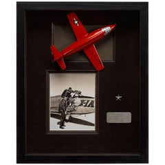 Model Bell X1 Rocket Plane Signed by Chuck Yeager
