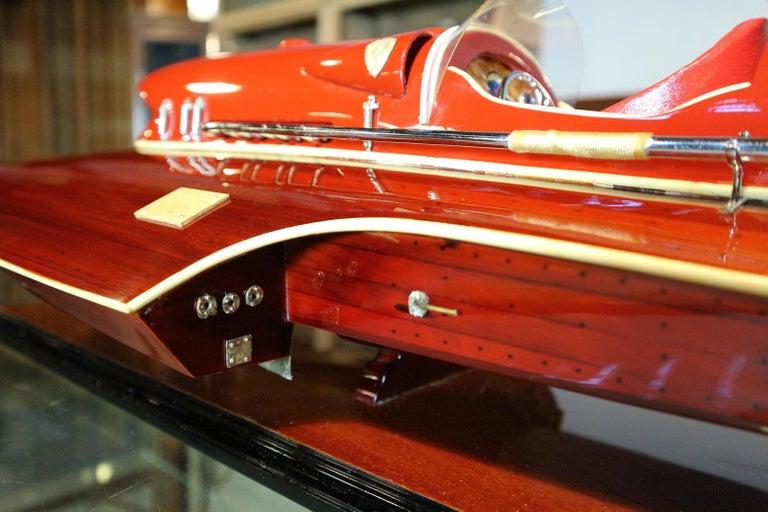 Model Boat Ferrari Hydroplane For Sale 2