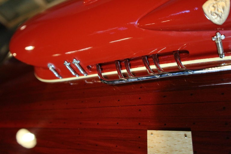 Model Boat Ferrari Hydroplane For Sale 4