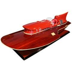 Model Boat Ferrari Hydroplane