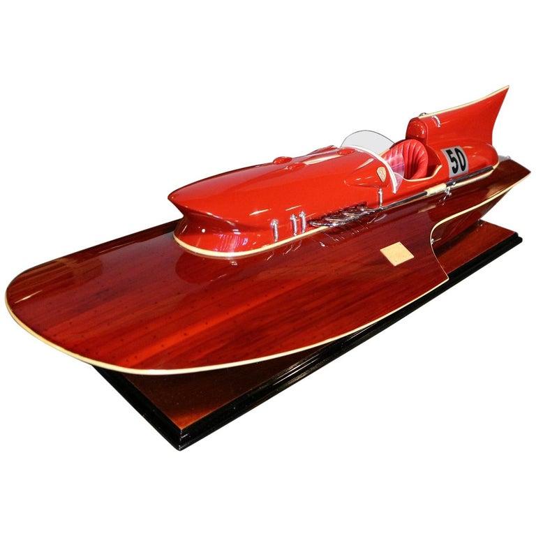 Model Boat Ferrari Hydroplane For Sale