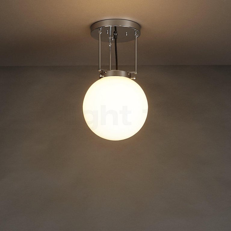 Model DMB 26 Bauhaus Pendant Light by Marianne Brandt for Tecnolumen In New Condition For Sale In Los Angeles, CA