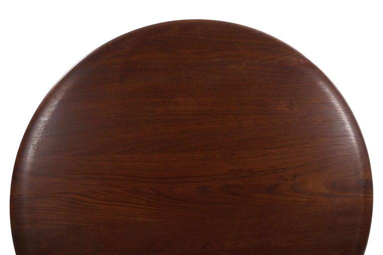Model FD 515 Teak and Wicker Coffee Table by Peter Hvidt & Orla Mølgaard Nielsen For Sale 5