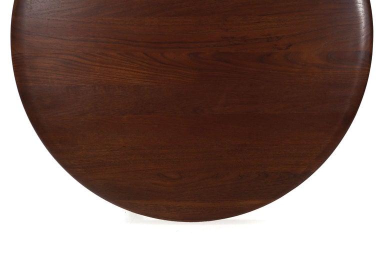 Model FD 515 Teak and Wicker Coffee Table by Peter Hvidt & Orla Mølgaard Nielsen For Sale 6