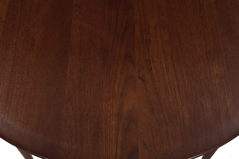 Model FD 515 Teak and Wicker Coffee Table by Peter Hvidt & Orla Mølgaard Nielsen For Sale 8