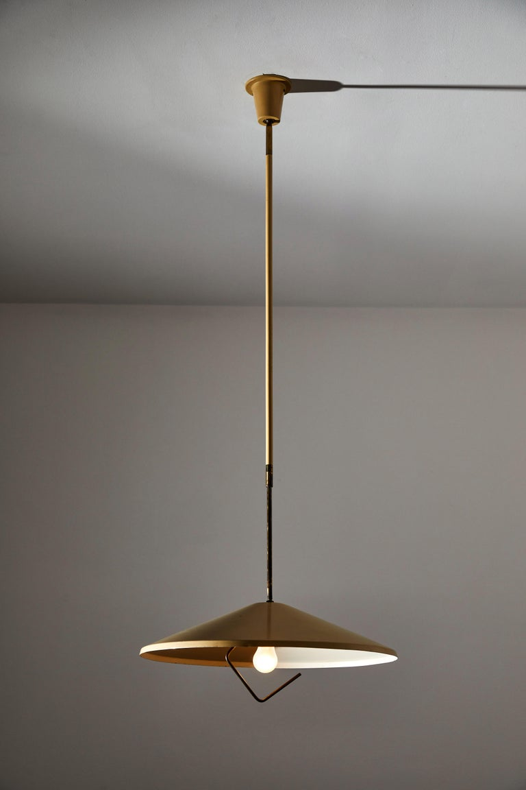 Italian Model G6 Suspension Light by Lumen For Sale