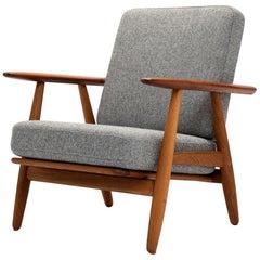 Model GE-240 Cigar Chair by Hans J Wegner for GETAMA, Denmark, 1950s