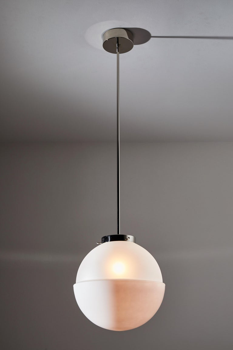 Model HMB 29/400 Pendant by Marianne Brandt for Tecnolumen In New Condition For Sale In Los Angeles, CA