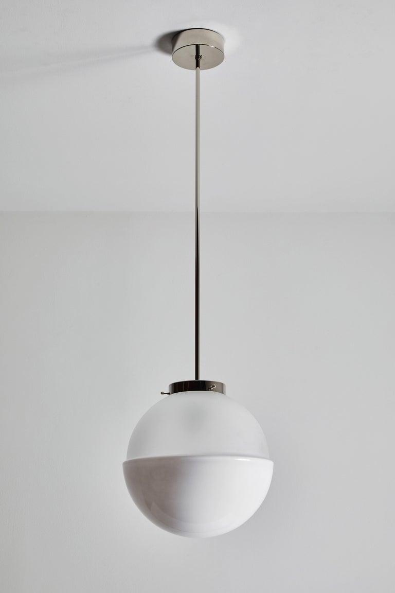 Glass Model HMB 29/400 Pendant by Marianne Brandt for Tecnolumen For Sale