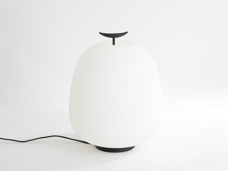 Floor/table lamp model J13 by Joseph-André Motte for Disderot. This elegant lamp from the 1950s has been recreated by Disderot with a Japanese influence and Minimalist style, this extremely rare lamp was an inaccessible dream for many collectors,