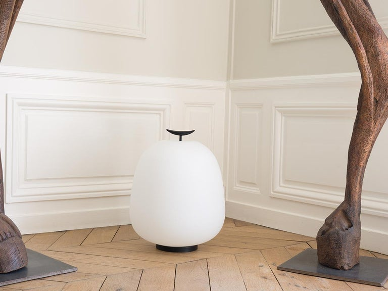 Mid-Century Modern Model J13 Table / Floor Lamp by Joseph-André Motte for Disderot - Available Now For Sale