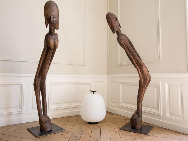 French Model J13 Table / Floor Lamp by Joseph-André Motte for Disderot - Available Now For Sale
