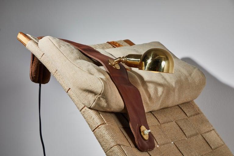 Brass Model Lp01 Armchair Lamp by Luigi Caccia Dominioni for Azucena For Sale