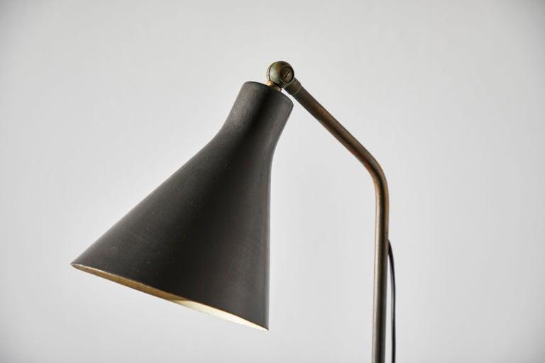 Model Lte3 Alzabile Floor Lamp by Ignazio Gardella for Azucena For Sale 2