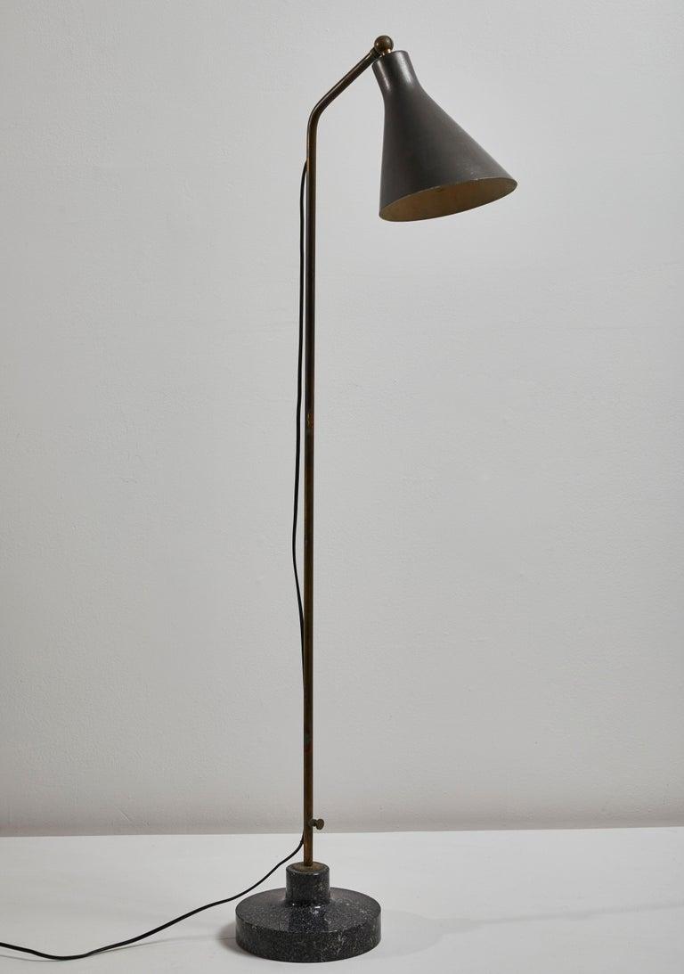 Model Lte3 Alzabile Floor Lamp by Ignazio Gardella for Azucena For Sale 6