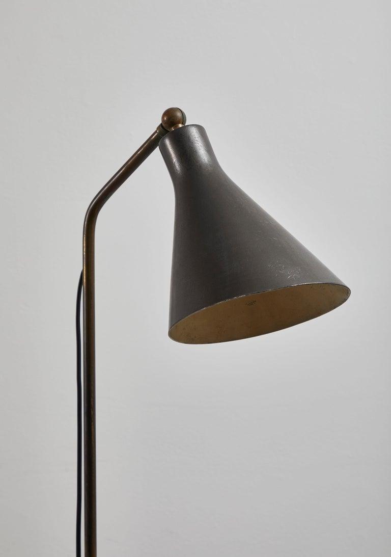 Model Lte3 Alzabile Floor Lamp by Ignazio Gardella for Azucena For Sale 7