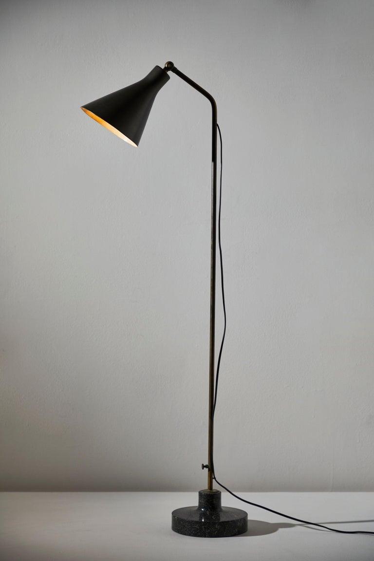 Italian Model Lte3 Alzabile Floor Lamp by Ignazio Gardella for Azucena For Sale