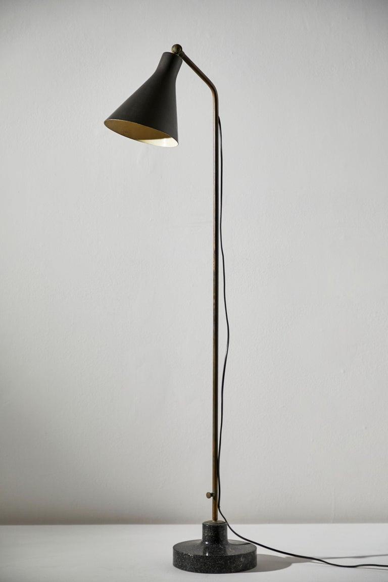 Model Lte3 Alzabile Floor Lamp by Ignazio Gardella for Azucena For Sale 1
