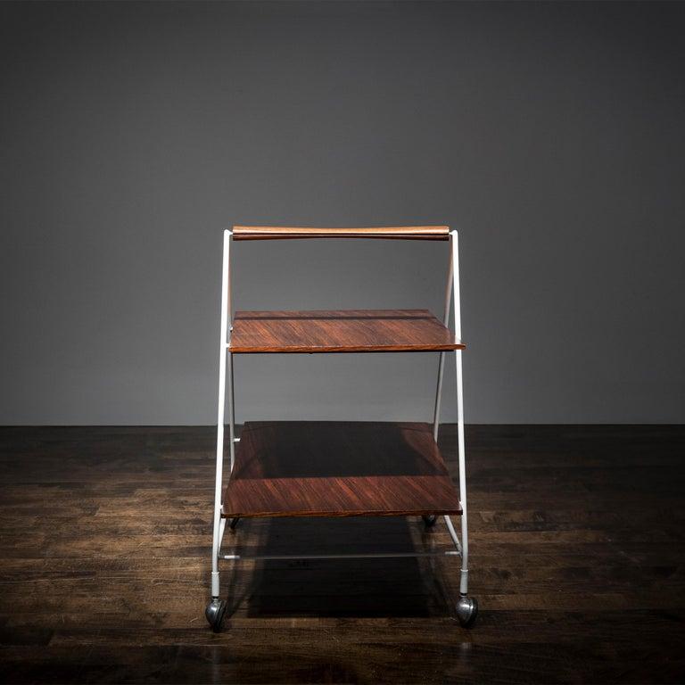 Modern Model M10 Bellagio Tea/Bar Cart by Ico Parisi For Sale
