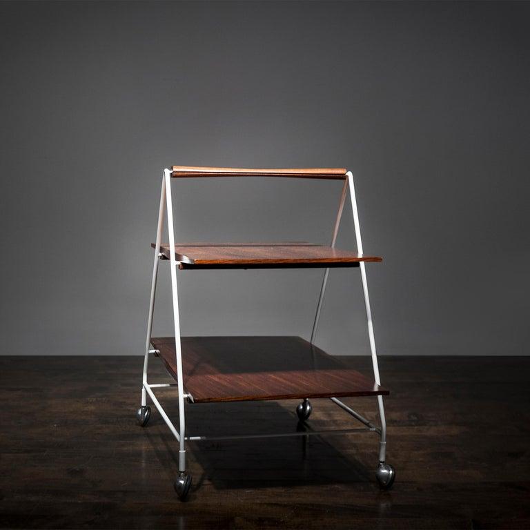 Italian Model M10 Bellagio Tea/Bar Cart by Ico Parisi For Sale