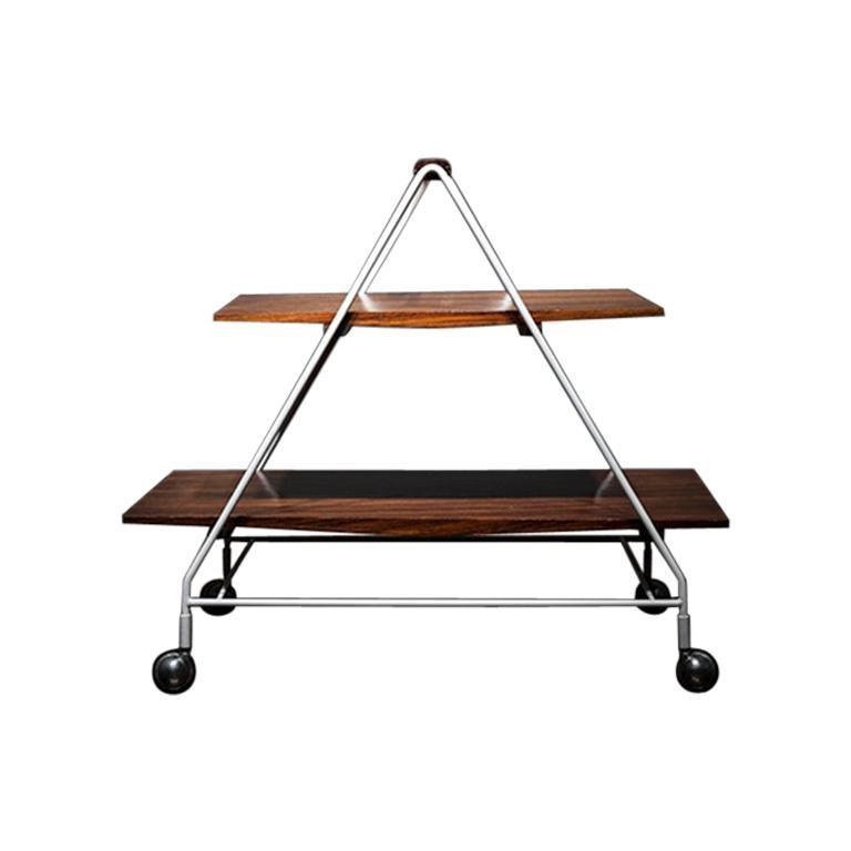 Model M10 Bellagio Tea/Bar Cart by Ico Parisi For Sale