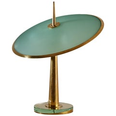 Model No. 1538 Table Lamp by Max Ingrand for Fontana Arte