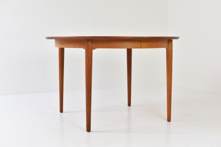 Scandinavian Modern Model No. 204 Dining Table by Arne Vodder for Sibast Mobler, Denmark, 1955 For Sale
