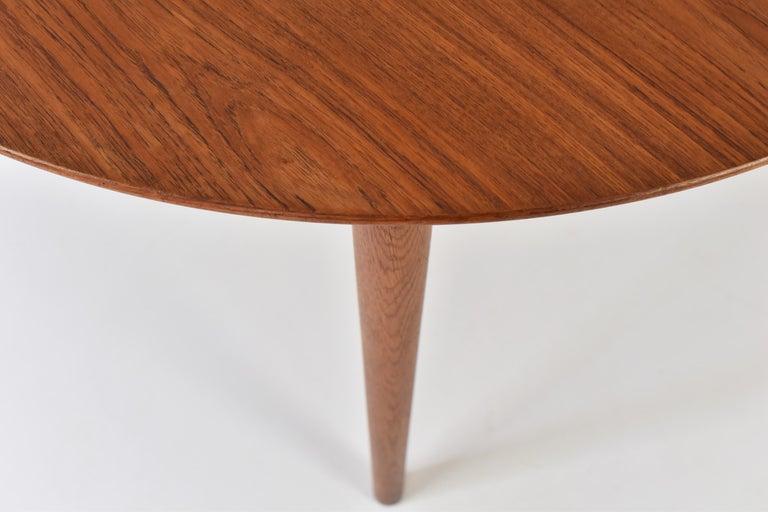 Mid-20th Century Model No. 204 Dining Table by Arne Vodder for Sibast Mobler, Denmark, 1955 For Sale