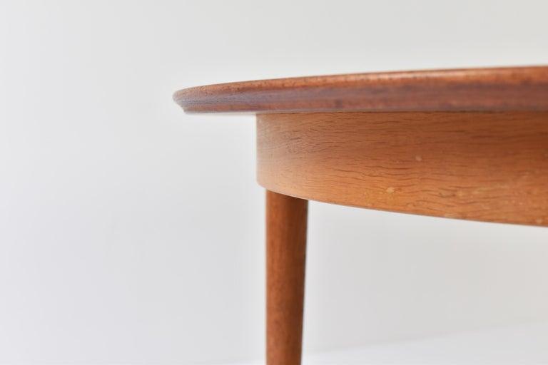 Model No. 204 Dining Table by Arne Vodder for Sibast Mobler, Denmark, 1955 For Sale 2