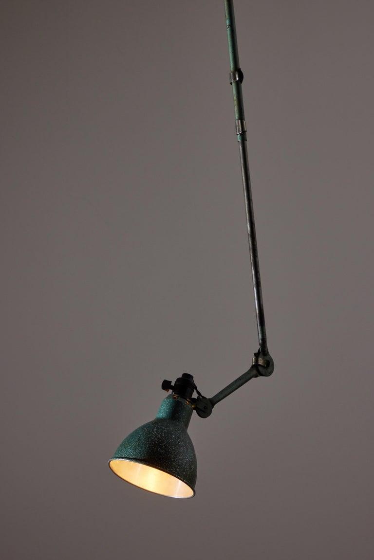 Steel Model No. 302 by Bernard Albin Gras for Gras Ravel For Sale